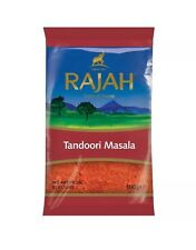 RAJAH TANDOORI MASALA POWDER MIX 100g HIGH QUALITY INDIAN SPICE FREE RECIPES