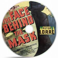The Face Behind The Mask Black And White Public Domain film Converted To DVD