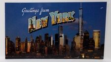 NYC Magnet New York Skyline Freedom Tower Souvenir Tourist Kitchen Made in USA