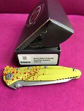 Microtech SOCOM DELTA T/E Zombie-Tech Bead Blast Standard Folding Knife RARE!!!