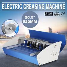 """20.5"""" Elektrische Nutmaschine Rillmaschine 3-in-1 Printing Drehzahlregelung"""