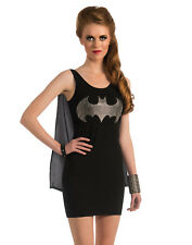 Sexy Batgirl Batman Superhero Tank Mini Dress Adult Hallowen Costume Womens-M