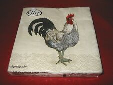 Farmhouse Mr. Rooster 20 Paper Luncheon Napkins ~ 3 Ply ~ Ideal Home Range