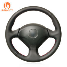 DIY Black Leather Steering Wheel Cover for Honda S2000 Civic Si Acura RSX Type-S