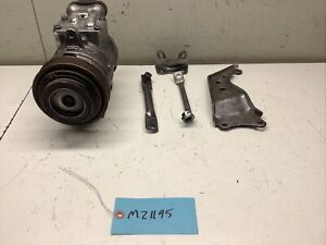 1987-1993 FORD MUSTANG 302 5.0L 5.8L V8 A/C COMPRESSOR WITH BRACKETS & BRACES