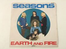 "EARTH AND FIRE - SEASONS - 7"" JOKER RECORDS 1970 ITALY - EX++/EX- Q5"