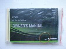 2020 Kawasaki Kfx90 Atv Owner'S Manual 99803-0026 Oem (Fits: Kawasaki)