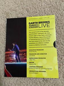 GARTH BROOKS (DVD) LIVE YANKEE STADIUM~RARE FYC 2016 CONCERT SPECIAL band