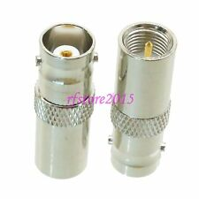 1pce Adapter Connector BNC female jack to FME male plug for for CCTV Radio