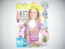 Simply Knitting Magazine Issue 120 May 2014 Bright Knits