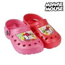 Sabots de Plage en caoutchouc Minnie Couleur - Rouge, Taille des chaussures - 2