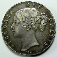 1845 Great Britain Crown