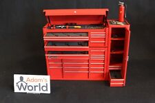 Snap on Tool box with tools and Fire extinguisher 1:8 red