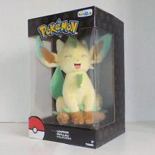 "Tomy Pokemon LEAFEON (Phyllali) 8"" Plush Figure T19066 NIB Toys R Us Exclusive"