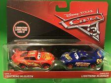 Disney Pixar Cars 3 Lightning McQueen Blue Fabulous Hornet Lightning McQueen