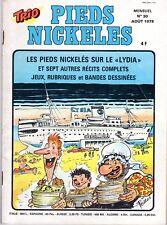 TRIO 30   PIEDS NICKELES ANNEE 1978 RARE
