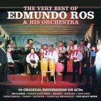 EDMUNDO ROS - VERY BEST OF  2 CD NEU