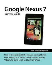 Google Nexus 7 Survival Guide: Step-by-Step User Guide for the Nexus-ExLibrary