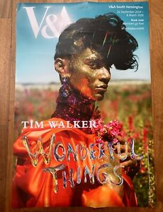TIM WALKER Halpern Dolce & Gabbana WONDERFUL THINGS fashion photography poster
