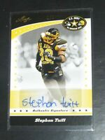 2011 Leaf All American Bowl Stephon Tuitt Auto RC Steelers PSA 10 TRUE 1/1 POP1