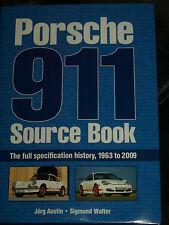 PORSCHE 911 Sorgente book Jorg AUSTIN Sigmund Walter 1963 2009 E S SC GT3 GT2 GT1