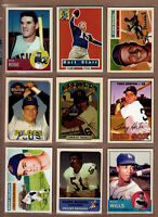 LOT OF 9 BOB LEMKE TRIBUTE CARDS  PETE ROSE MUSIAL BART STARR COLAVITO & MORE