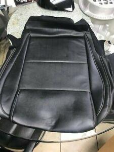 2016 2017 2018 Nissan Maxima S/SV  Black Leather Passengers Bottom Seat Cover