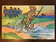 1910s Corbin Coaster Brake Bike Ad - Bwana Tumbo's Ride Teddy Roosevelt