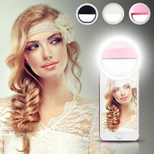 Selfie Flash Light LED Ring Blitz Licht Kamera Foto iPhone Samsung Smartphones