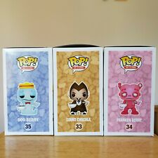 Funko Pop Boo Berry Count Chocula Franken Berry Monster Cereals +soft Protectors