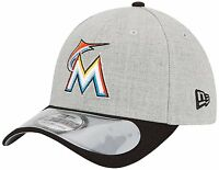 Miami Marlins New Era Cap MLB Authentic Clubhouse 39Thirty Flex Hat