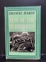 VINTAGE Tess of the D'Urbervilles by Thomas Hardy -Modern Library #72 HB/DJ