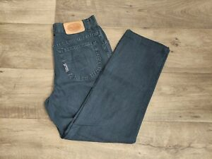 Trussardi jeans uomo/unisex nero vintage 90S taglia w.34 It 48