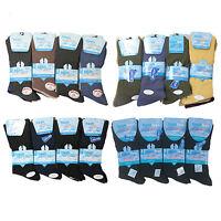 New Mens Non Elastic Diabetic Big Foot Gentel Grip Everyday Socks Size 11-14