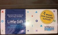 SIMILAC COMPLETE NUTRITION LITTLE GIFT SAMPLE BOX WITH $100 IN COUPONS INSIDE