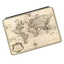 Vintage Old World Map #2 Travel Globe iPad Mini 1 2 3 PU Leather Flip Case Cover