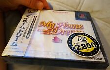 My Home Dream BRAND NEW FACTORY SEALED Japan Import PS1.BEAUTIFUL CONDITION RARE