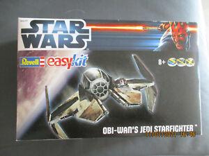 Star Wars Revell easykit Obi-Wan´S Jedi Starfighter Neu Ungeöffnet siehe Bilder