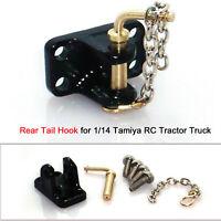 hinterer Heckhaken DIY Modifikationssatz für 1/14 Tamiya RC Traktor CDE