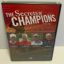 The Secrets of Champions Volume 1 Golf Instruction DVD New Sealed