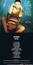"Vaya con Dios ""time flies"" 1992!"" heading for a caso"" + ""così long ago""! NUOVO CD!"