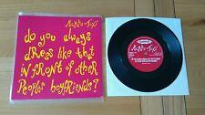 "Mambo Taxi Do You Always Dress 1993 UK 7"" Clawfist HUNKA20 Alt Indie Rock Ex/Ex+"
