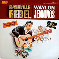 Waylon Jennings-Nashville Rebel LP Soundtrack  RCA Victor USA issue-LSP-3736(e)
