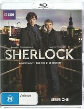 SHERLOCK  -  SERIES ONE.   /   2 BLU-RAY DISC BOXSET.   BENEDICT CUMBERBATCH.