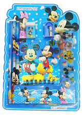 NEW KIDS STATIONARY SET MICKEY AND MINNIE MOUSE BIRTHDAY PARTY GIFT TOY SCHOOL