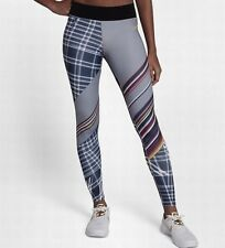 Nike Pro Hyperwarm Wmns Training Printed Tights 908324-582 Grey Multi Size S New