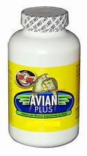 ZOO MED AVIAN PLUS BOX VITAMINS & MINERAL 4 OZ BIRD SUPPLEMENT. FREE SHIP TO USA