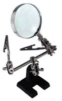 Helping Hands 4X Magnifier with Ball joints on all Angles