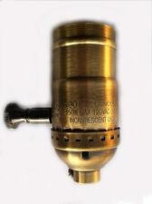 Incandescent Lamp holder Socket Dimmer, Brass - Full Range-Antique Brass Finish