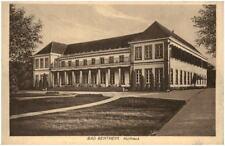 BENTHEIM alte AK 1933 Dt. Reich Bedarfspost-AK Partie am Kurhaus Ansichtskarte